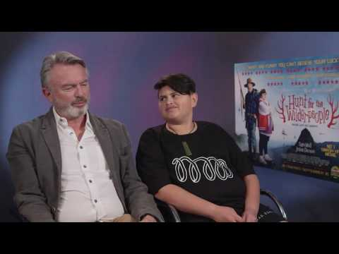 Julian Dennison teases Sam Neill about being pampered