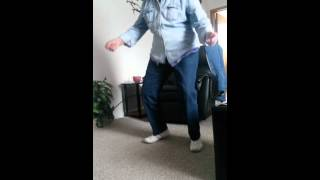 My 83 year old grandma trying to twerk.