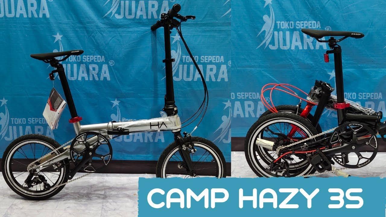 Harga Sepeda Lipat Camp Hazy