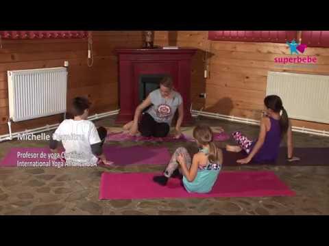 yoga challenge in 2 pentru copii  modern life