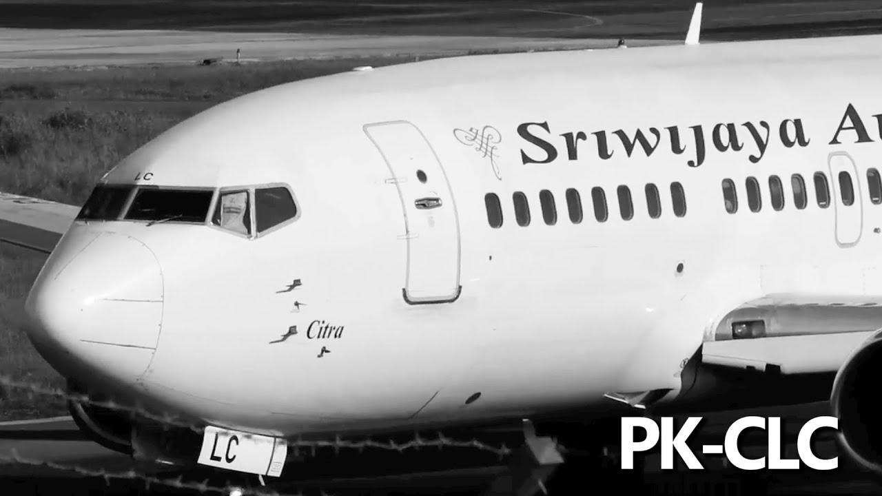 Paling Seru Melihat Pesawat Sriwijaya Air Take Off di Bandara Ini (Pesawat Terbang Indonesia)