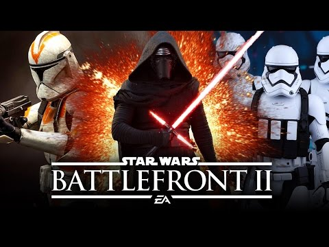 Star Wars Battlefront 2 - Completely New Weapon System and Lightsaber Combat!