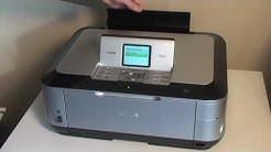 Canon Pixma MP640 All-in-one Printer Set-up Guide - part 1