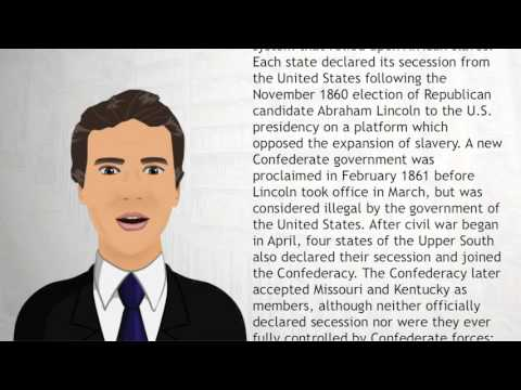 Confederate States of America - Wiki Videos