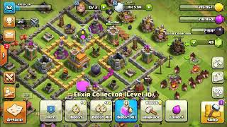 Townhall 7 hog rider ± wizard attacking strategy best ever