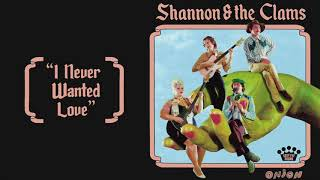 Shannon & the Clams - I Never Wanted Love [Official Audio]