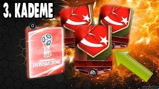 EFSANE 3 KADEME PAKET AÇILIMI FIFA Mobile 18 Dünya Kupası