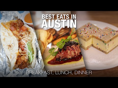 The Best Eats in Austin with Aaron Franklin | Food Network