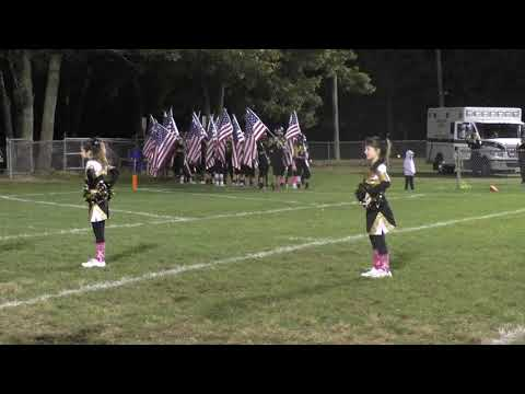 2017 Upper Township Indians Homecoming Flag Presentation