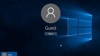 10 Windows Misafir Kullanıcı Hesabı Oluşturma