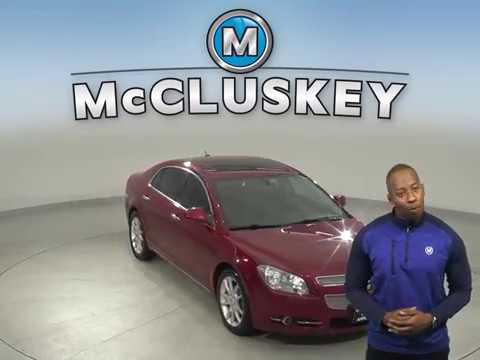 A15214CT Used 2011 Chevrolet Malibu Red Sedan Test Drive, Review, For Sale -