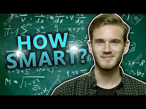 Thumbnail: THE PEWDIEPIE IQ TEST