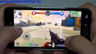 Обзор игр на Samsung Galaxy S5 mini Games