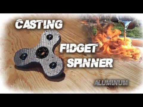 Aluminum Fidget Spinner DIY