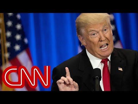 See Trump's one-word response to border emergency rebuke