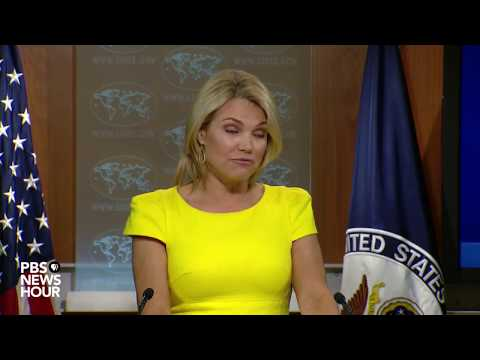 State Department news briefing