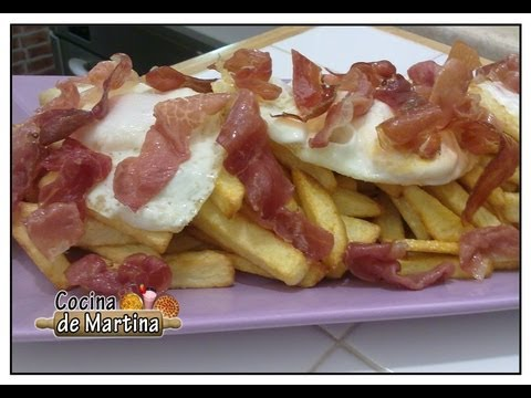 Huevos revueltos con jamon scrambled eggs with ham doovi for Cocina de martina