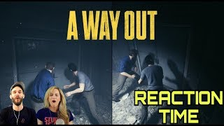 A WAY OUT - ELECTRONIC ARTS E3 2017 TRAILER REACTION WITH MOMZ!