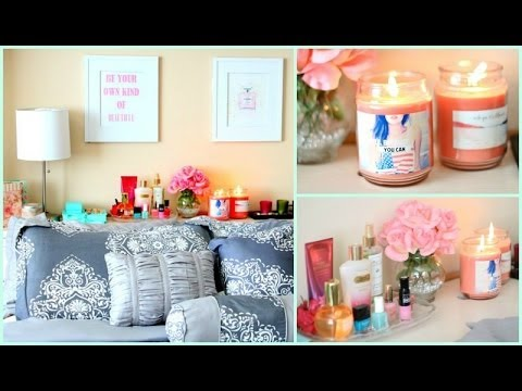 4 easy diy room decor ideas | tumblr pinterest - youtube
