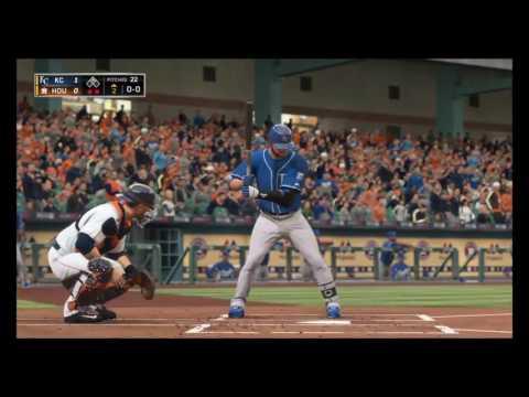 Kansas City Royals Franchise MLB 16 : Royals vs HOU