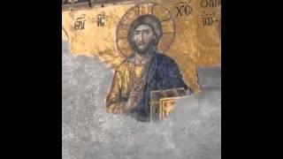 Jesus watches me in the Aya Sophia