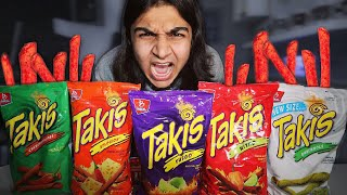 hot takis and cheetos challenge