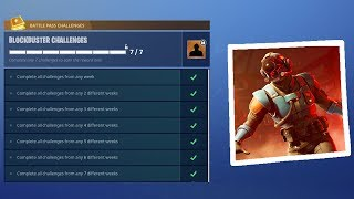 Révélation du BLOCKBUSTER SKIN à Fortnite.