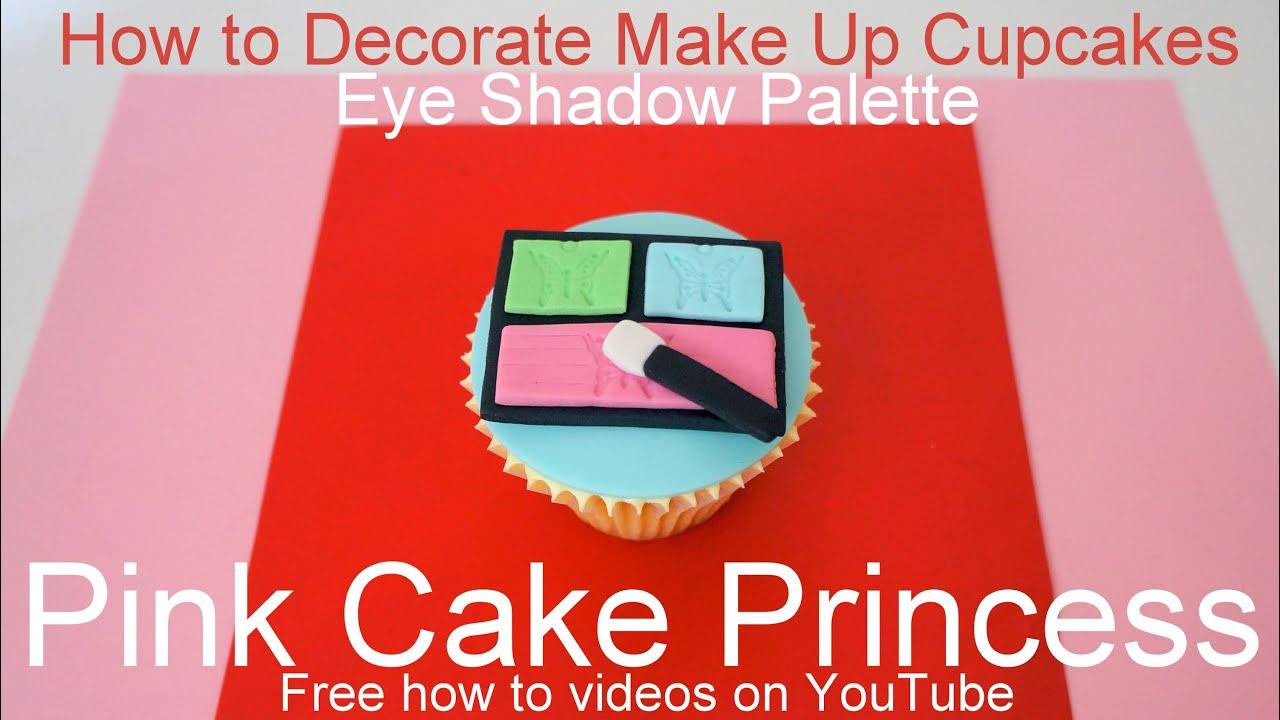 How to Make Edible Cosmetics Cupcakes (2) - YouTube