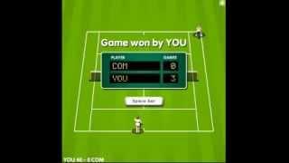 El ChotaCabras Juega A Tennis Game