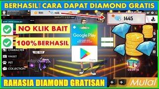 BERHASIL!!! Cara Mendapatkan Diamond Free Fire Gratis Tanpa Uang Tanpa Pulsa