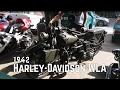 1942 Harley Davidson WLA Start Up (Philippines)