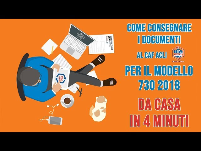 VIDEO 3 - Consegna i documenti sul 730 online di Caf Acli