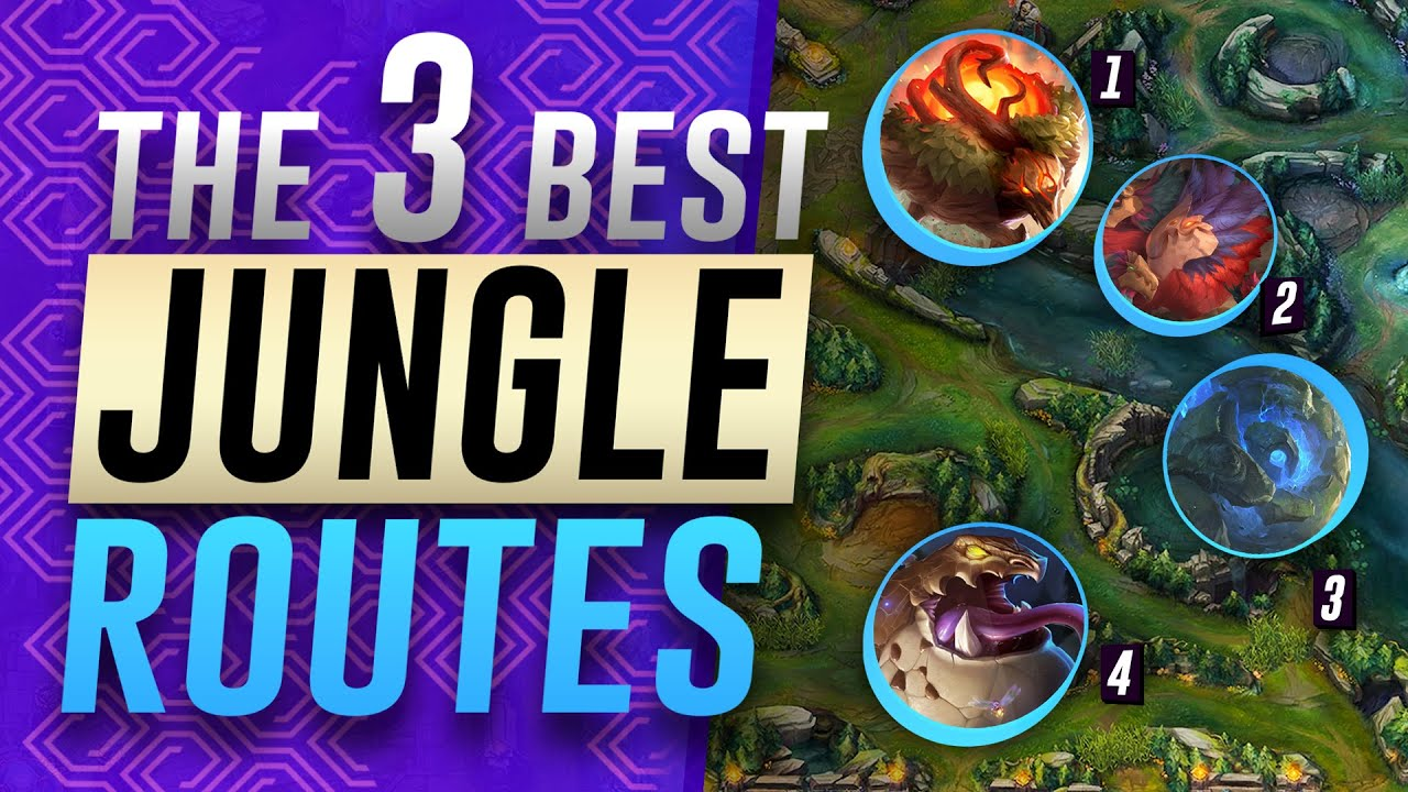 3 Strong Jungle Routes Clears For Season 11 League Of Legends Jungle Guide Youtube