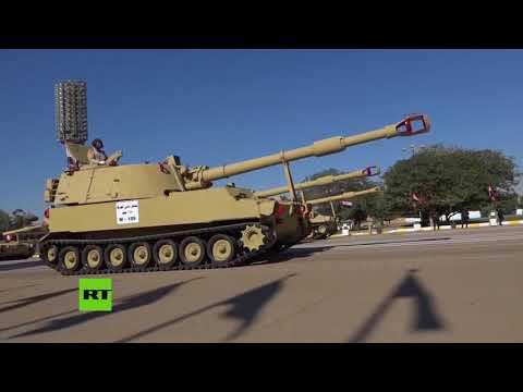 Desfile militar en Irak para celebrar la victoria sobre el Estado Islámico