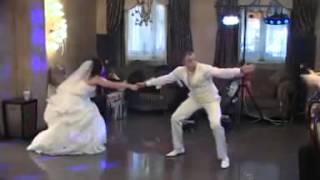 Шуточный танец жениха и невесты