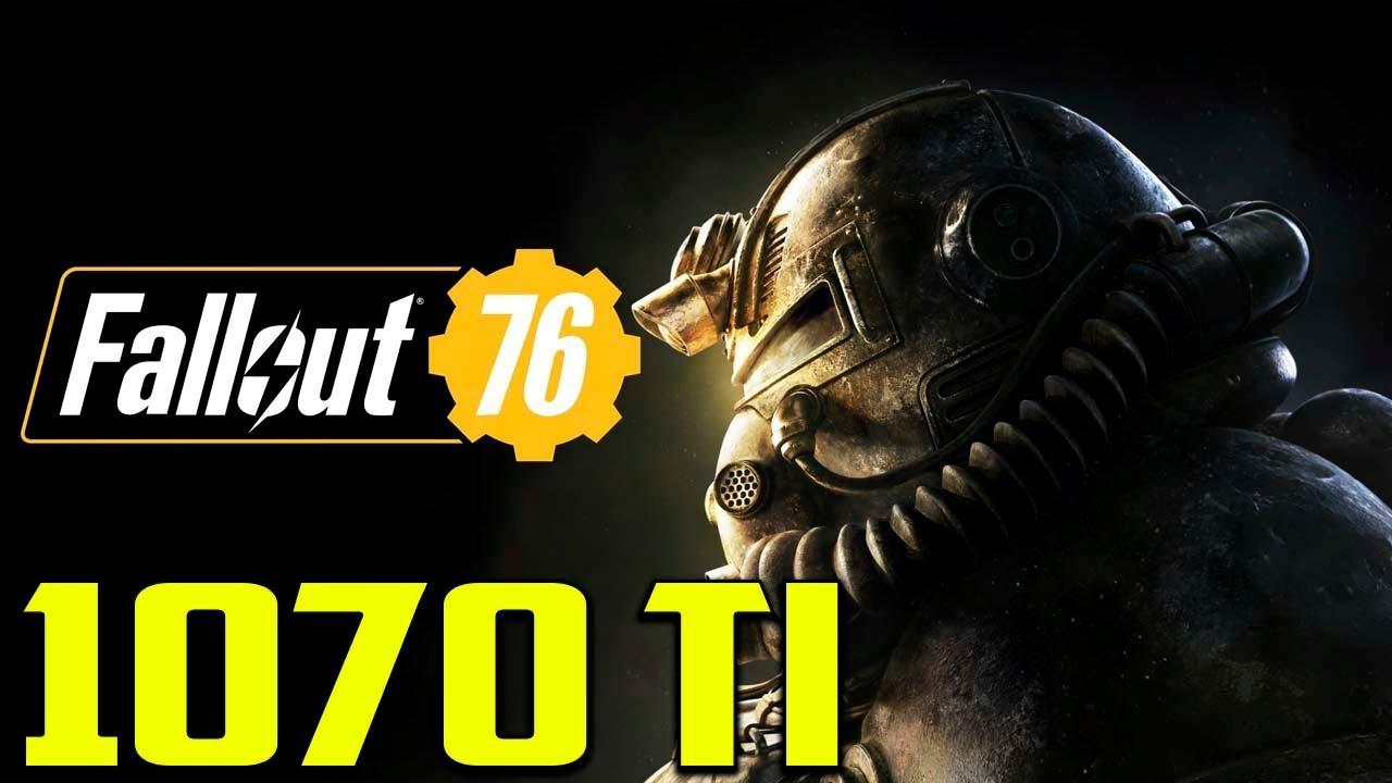 Fallout 76 BETA | GTX 1070 Ti - i7 8700 | 1080p | Ultra Settings |  FRAME-RATE TEST
