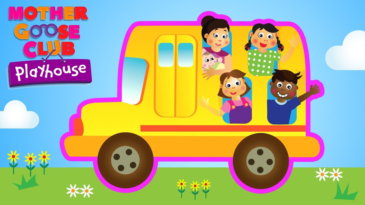 Wheels on the Bus | Mother Goose Club Playhouse Kids Video - YouTube