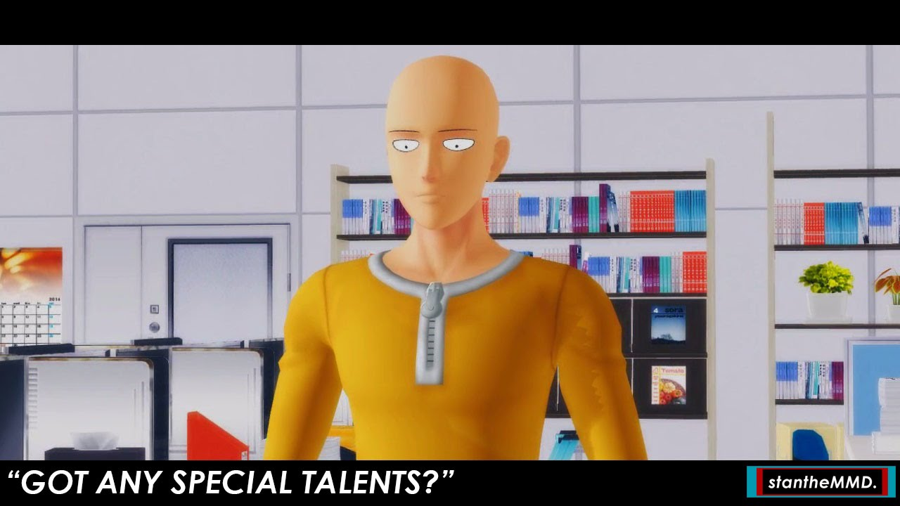 mmd short when they ask if you have any special talents when they ask if you have any special talents