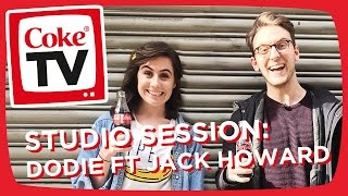 Dodie and Jack Howard Record 'A Permanent Hug From You' | #CokeTVMoment