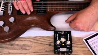 Weekend Workshop  - BakTrak Pro MP3 backing track guitar pedal
