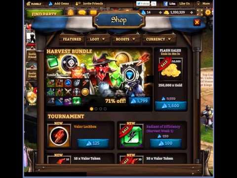 KingsRoad: Harvest Tournament