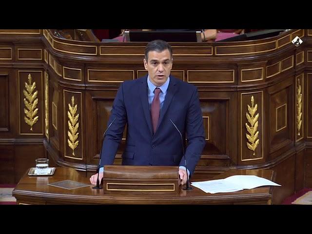 Grande SÁNCHEZ. Es capaz de hablar de #Franco hablando del #Covid-19