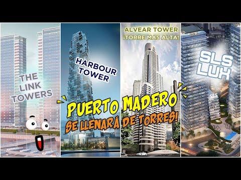 Nuevos Proyectos en Puerto Madero (Nuevos Rascacielos y Edificios)