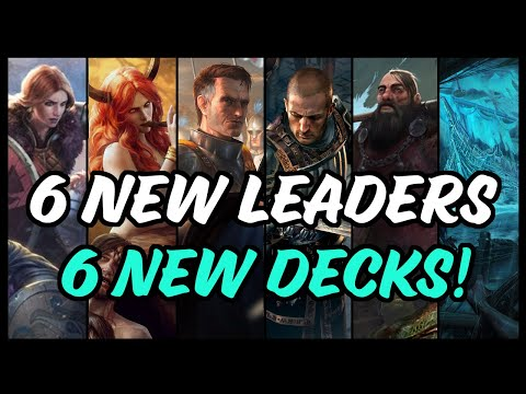 [Gwent] PATCH OUT - 6 New Leaders And Decks To Play!