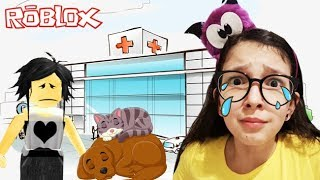 ROBLOX-OUR PETS HAVE GROWN and GONE TO HOSPITAL (Adopt Me) | Luluca Games