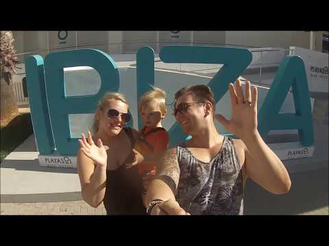 Mcelroy family Holiday IBIZA 2017