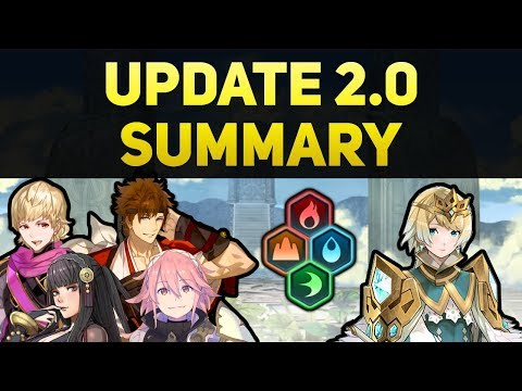 What You Should Know About Update 2.0 (Elemental Blessings, Next Banner Units, And More!)