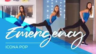Icona Pop - Emergency - HipNThigh Fitness Workout Dance Choreo Legs Booty Hips Thighs