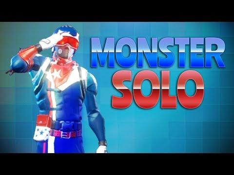 MONSTER SOLO (Fortnite Battle Royale) thumbnail