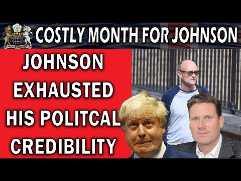 Boris Johnson Took A Beating This Month